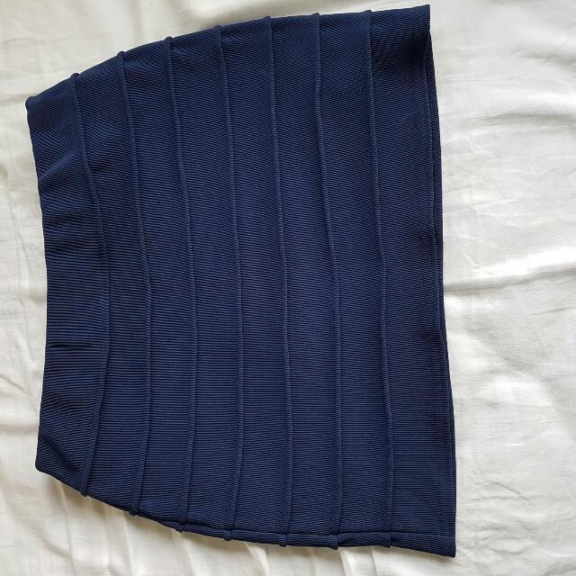 ASOS Blue Mini Skirt