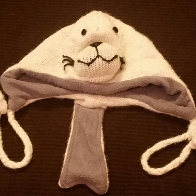 Baby Seal Wool Beanie
