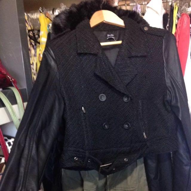 Bardot Jacket Crop