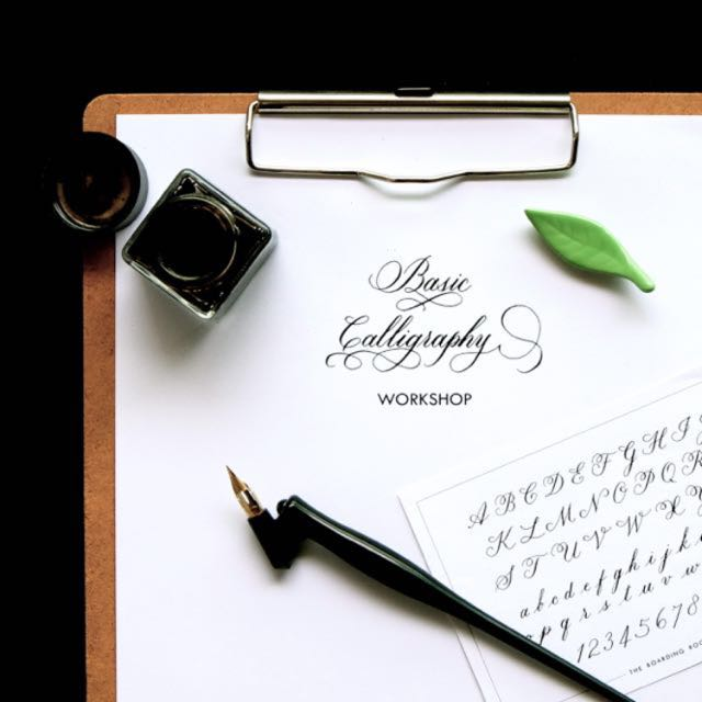 Basic Calligraphy Workshop (11 June) with The Boarding Room