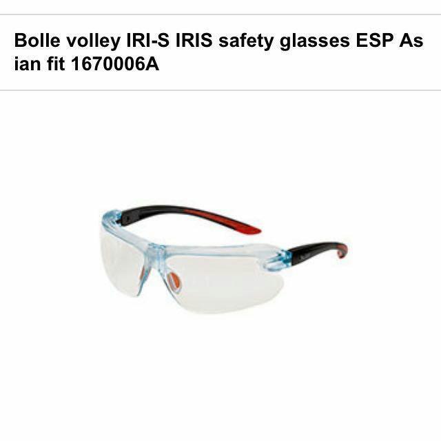 9ee8a1900d BNIB BOLLE Iris Safety Glasses - ESP Lens - Z87