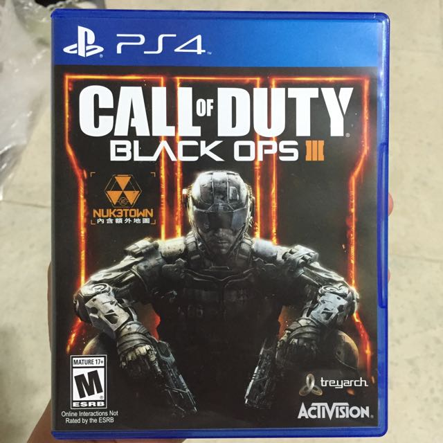 Ps4 遊戲 Call Of Duty Black Ops 3