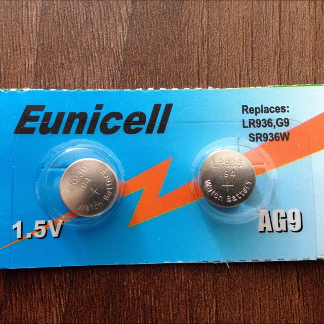 Eunicell LR936 AG9 SR936W Battery