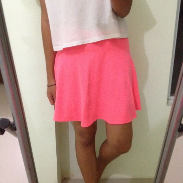 Forever 21 Neon Skirt