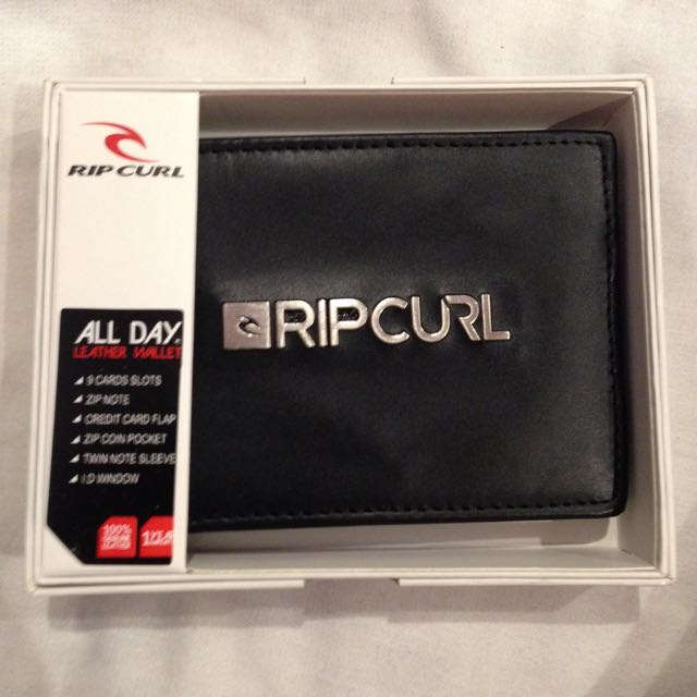 Genuine Leather Ripcurl Mens Wallet