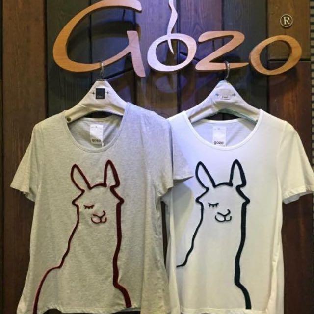 Gozo夏季短袖T恤