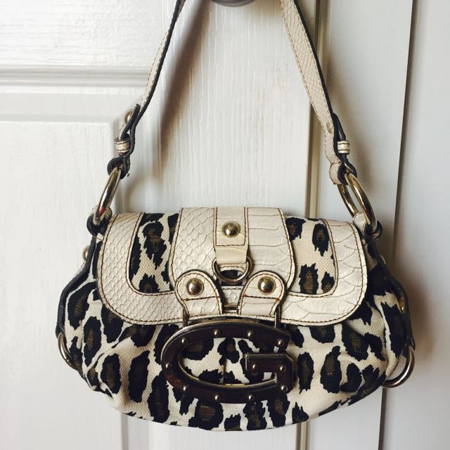 Guess Handbag (small) - Leopard Print