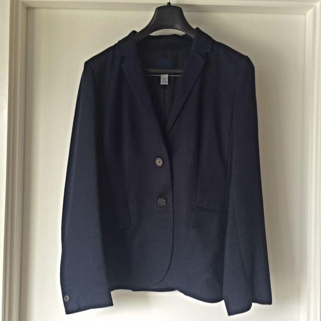 JCrew Navy Blue Suit