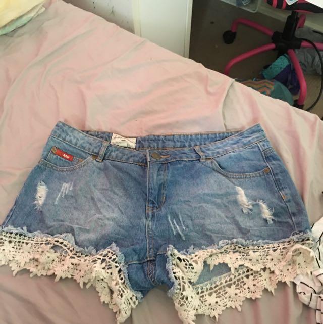 Lee Cooper Beach Shorts Size 12