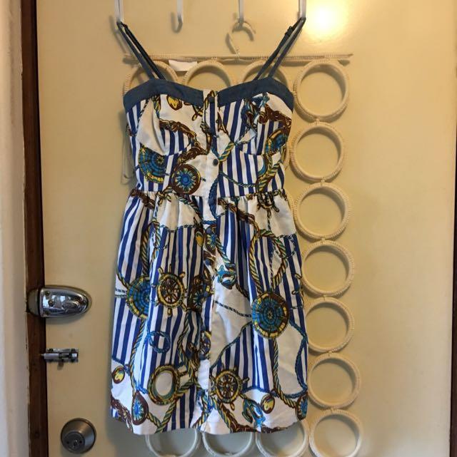 Little Navy Casual Dress