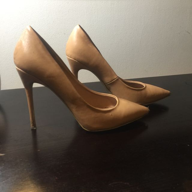 Marco Gianni Nude Heels Size 37