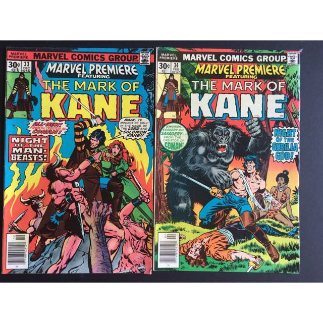 Marvel Comics The Mark Of Kane