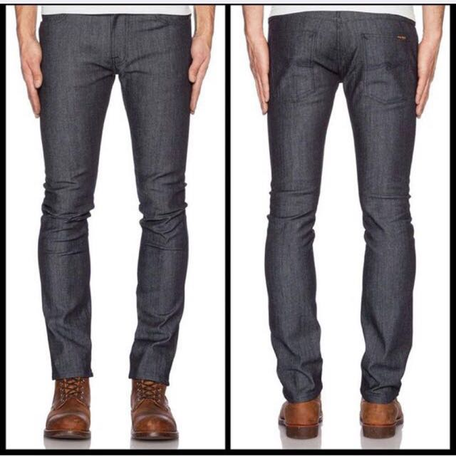 Nudie Jeans Tape Ted Dry Open Twill