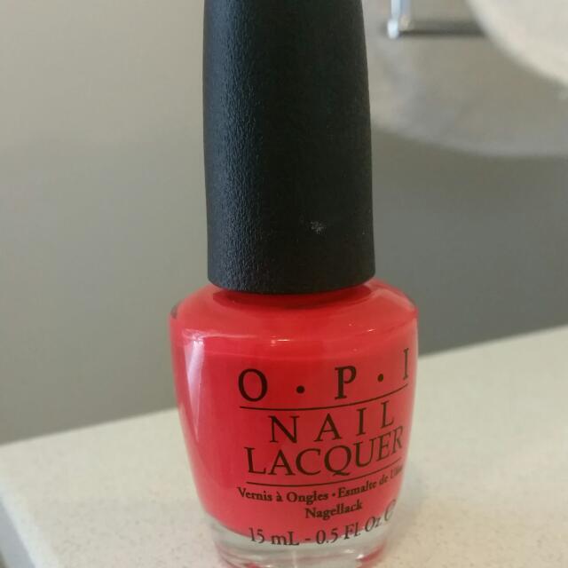 OPI Red Nail Polish
