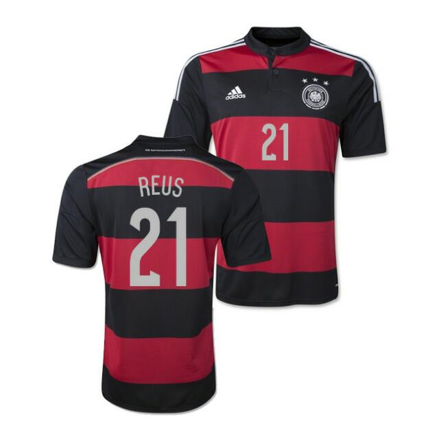 newest 209d1 7e05c Original Replica 2014 World Cup Germany National Football ...