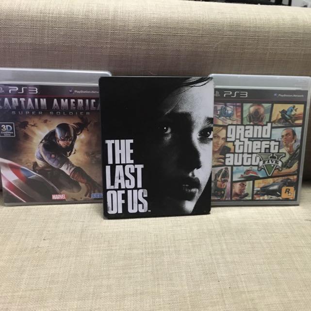 PS3 Discs