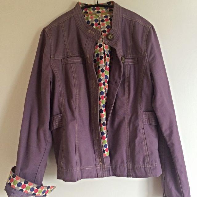 Purple Boden jacket