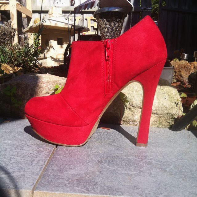 Red Betts High Heels