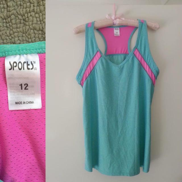 Size 12 - Exercise Shirt