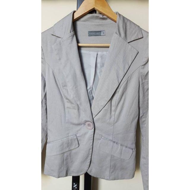 Size 6 - Forcast Light Grey Blazer
