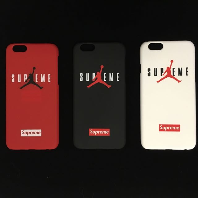 new arrivals 9b248 93c1e Supreme X Jordan iPhone 6/plus Case