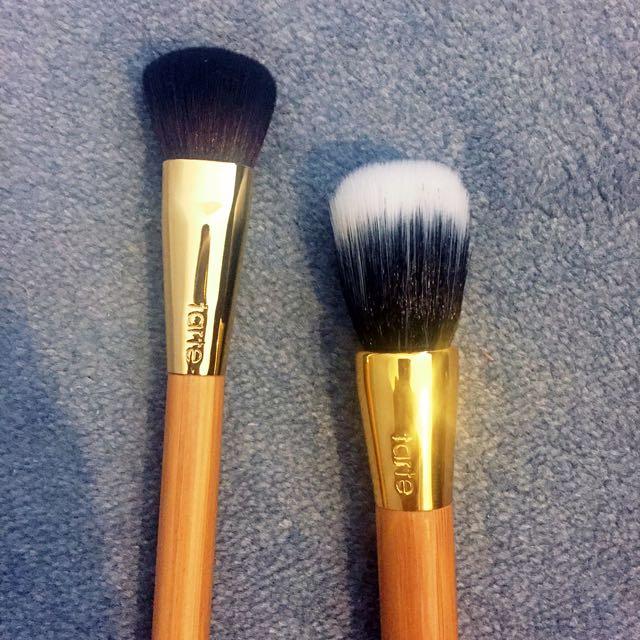 Tarte Foundation Brush & Duo Fibre Brush
