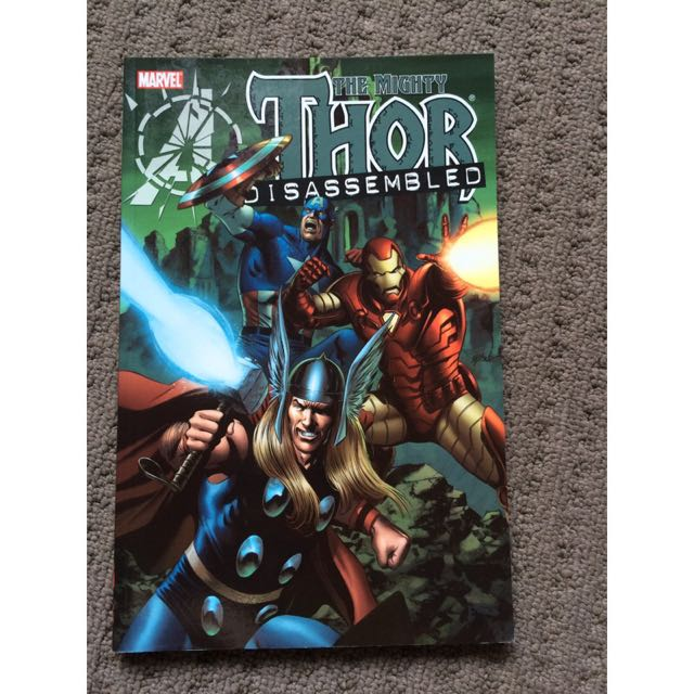 The Mighty Thor Disassembled Comic