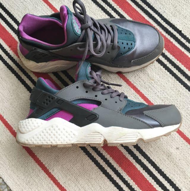 日本x-girl 店購入,Nike Air  HUARACHE 武士鞋