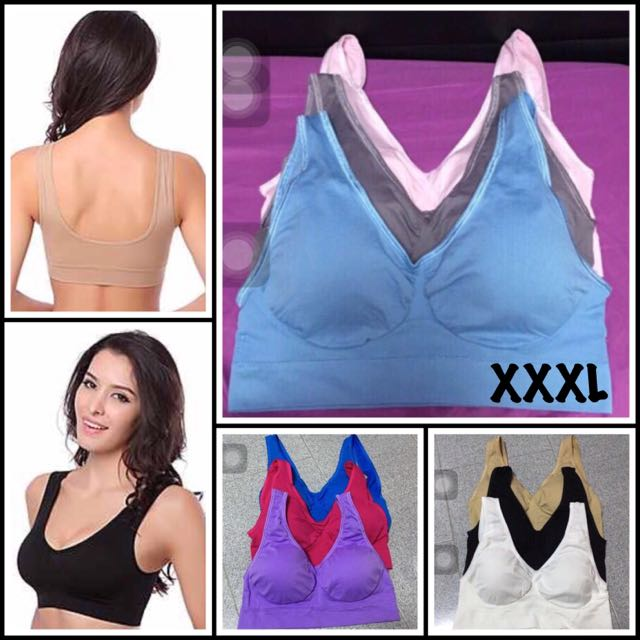 106952dab6ad3 XXXL Genie Bra 3XL Plus Size Sports Bra Comfy Wireless Wacoal ...