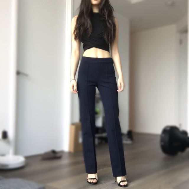 ON HOLD Zara Woman Navy Pants