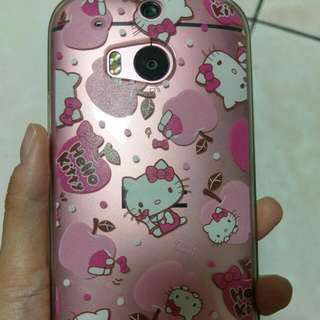 HTC M8 Hello Kitty 手機殼 軟殼
