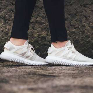 Adidas Originals Tubular Viral Off White Cream Beige