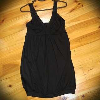 Kookai Black Bubble Dress - Size 2