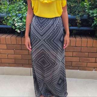 Black Maxi skirt Still With Tags