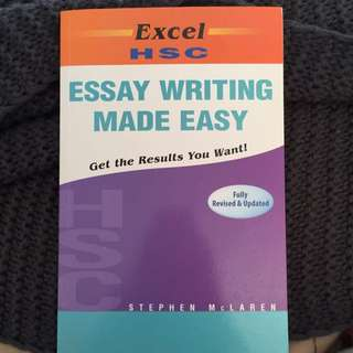 HSC Essay Writing Made Easy Excel Textbook