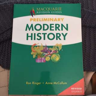 Preliminary Modern History Macquarie Revision Guides