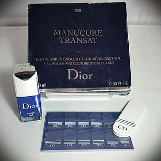 DIOR NAIL POLISH &COUTURE STICKERS DUO