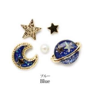 TWINKLE#藍星球耳環組