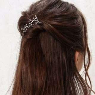 TWINKLE#森林系女神樹枝髮夾