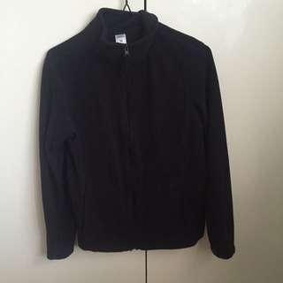 Zip Up Black Jacket (size 10)