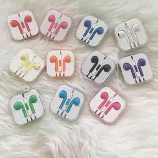 3x iPhone Earphone, Headphone, With Mic And Volume Button