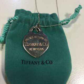 *** Replica Return to Tiffany heart tag pendant and necklace
