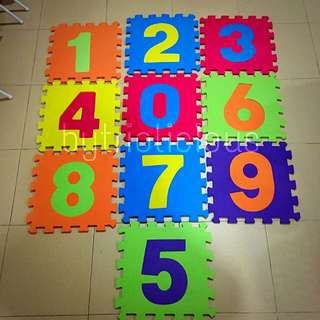 Baby Mat (Numbers)