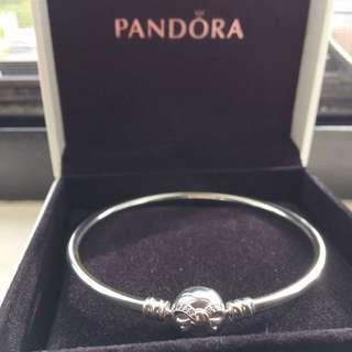 潘朵拉蝴蝶結手環(全新-澳洲帶回)
