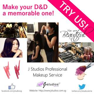 D&D / Dinner & Dance Makeup Service by J Studios