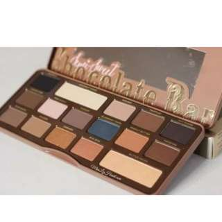 Chocolate Bar Pallet Too Faced