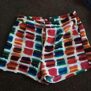 Bardot High Waisted Shorts