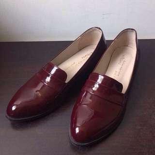 大降價❤️百搭樂福漆皮鞋