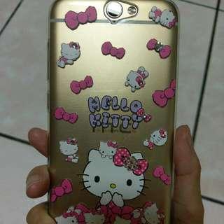HTC A9 Hello Kitty 手機殼 軟殼 水鑽