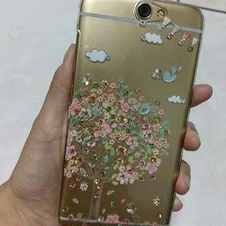HTC A9 幸福青鳥 相愛 手機殼 硬殼 apbs